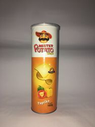 MR POTATO PAPRIKA MARRON BOITE 160G