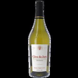 Côtes du Jura chardonnay, bouteille de 75cl