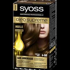 Coloration Oleo Suprême SYOSS, châtain doré n°4-60