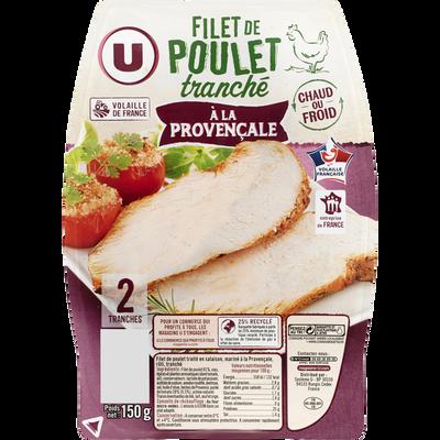 Filet de poulet à la provençale U, 2 tranches, 150g