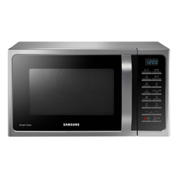 Micro ondes combiné SAMSUNG MC28H5015AS 28l 31,8cm 900w gris