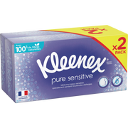 Kleenex Mouchoirs Blancs Sensitive Kleenex Boîte X72
