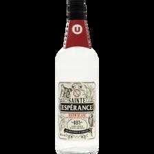 Rhum blanc agricole Saint Esperance U , 40°, bouteille de 1l