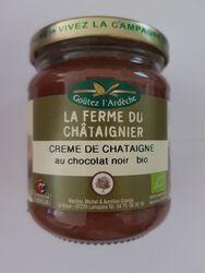 CREME DE CHATAIGNE AU CHOCOLAT NOIR