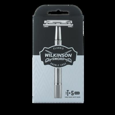 Rasoir classic WILKINSON, x1+5 recharges