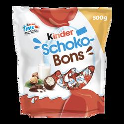 Schokobons oeufs KINDER, sachet de 500g