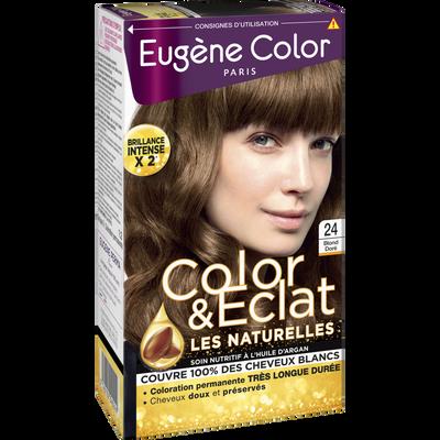 Coloration permanente blond doré n°24 EUGÈNE COLOR