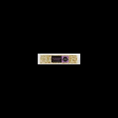 Barre de nougat tendre de Montélimar sans gluten, 100g