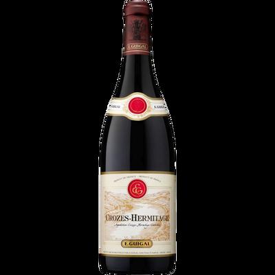 Vin rouge AOP Crozes Hermitage Guigal, bouteille de 75cl
