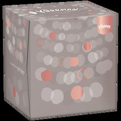 Mouchoirs ultra soft KLEENEX, boîte cubique de 56