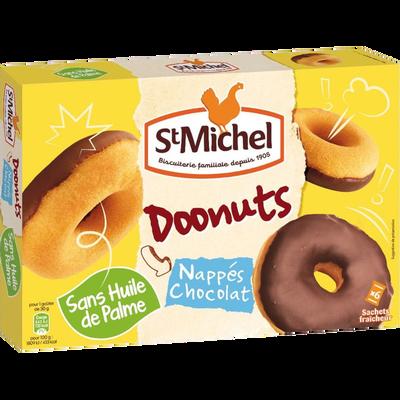 Doonuts nappés chocolat, SAINT MICHEL, paquet, 180g
