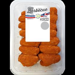 Ailes de poulet paprika, France, barquette 1kg