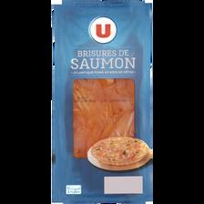 Brisures de saumon fumé U, 150g