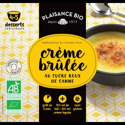 Préparation pour crèmes gourmandes crème brûlée PLAISANCE BIO, 40g