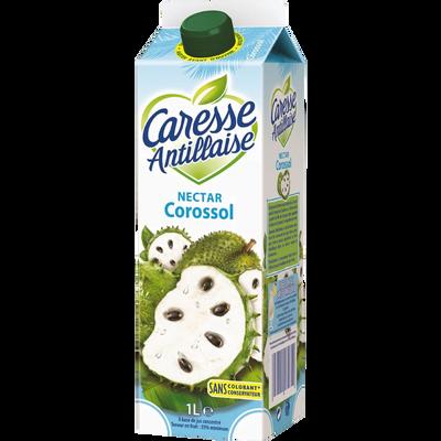 Nectar Corossol et citron vert CARESSE ANTILLAISE, brique de 1l