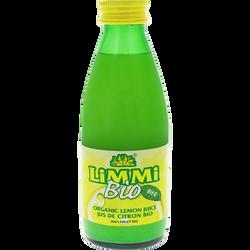 Jus de citron sicile Bio LIMMI, 250ml