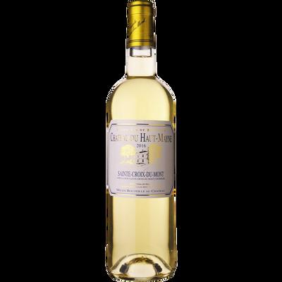 """Vin blanc moelleux AOP Ste-Croix du Mont """"Château du Haut Mayne"""", 75cl"""