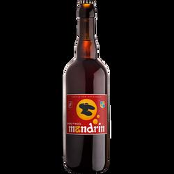 Bière de Noël MANDRIN 8°, bouteille de 75cl