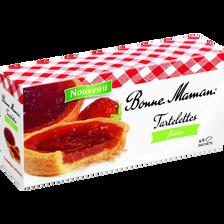 Tartelettes fraise, BONNE MAMAN, paquet, 135g