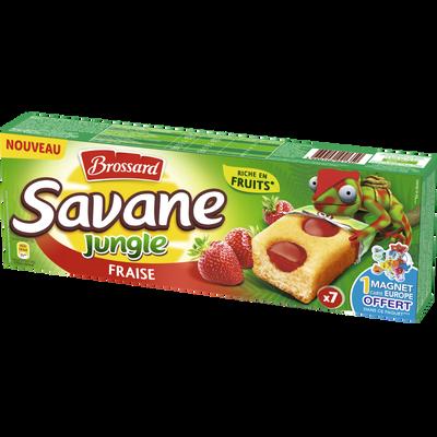 Savane jungle fraise BROSSARD, 175g
