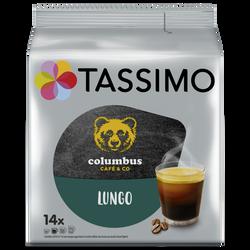 Café Dosettes TASSIMO Columbus Lungo  x 14
