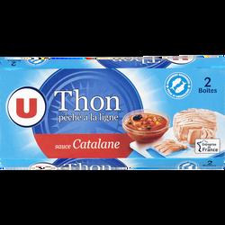 Thon à la catalane U, 2 boîtes 1/6, 270g
