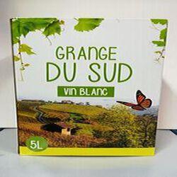 BIB GRANGE DU SUD BLANC 5L