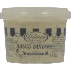 Sauce tartare DELOUIS, pot de 110g