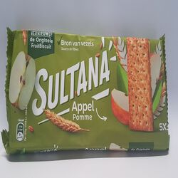 SULTANA FRUIT BISCUIT POM 218G