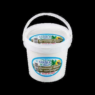 Fromage blanc de campagne GIRALP, 6% de MG, 1kg