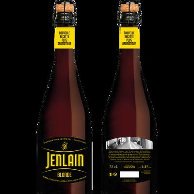 Bière blonde JENLAIN, 6,8°, bouteille de 75cl
