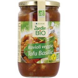 Ravioli tofu basilic JARDIN BIO 675g