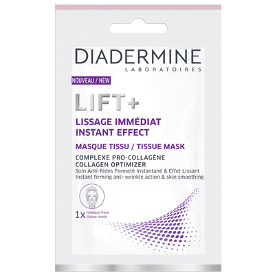 Masque tissu lissage immédiat lift+ DIADERMINE, x1
