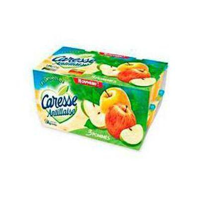 Compote aux 3 pommes CARESSE ANTILLAISE, 16x100g