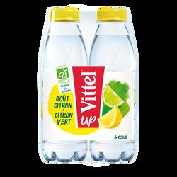 Eau minérale naturelle VITTEL BIO citron/citron vert 4x50cl