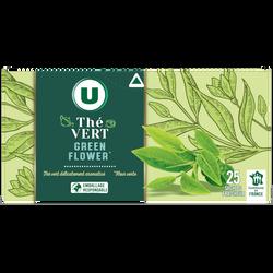 The vert green flower sachets x25 U 32,5g