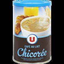 Chicorée café au lait U, boîte de 400g