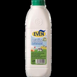 Lait fermenté ribot EVEN, bouteille de 1l