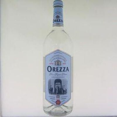 Eau minérale naturelle gazeuse de Corse OREZZA,1l