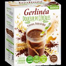 Boisson cacao soja & blé GERLINEA, 220g