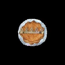 Galette des rois pomme éclats de caramel beurre salé avec santon MENOU, 500g