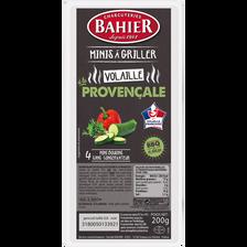 Mini boudin blanc de porc aux légumes à la provençale BAHIER, 4x50g soit 200g
