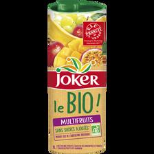 JOKER le bio multifruits brique, 1L