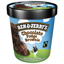 Crème glacée Chocolat Fudge Brownie BEN&JERRY'S, 415g