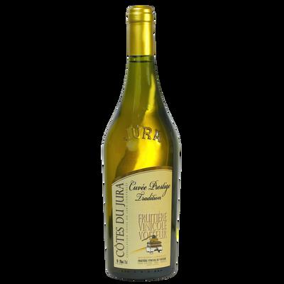 Côtes du Jura cuvée prestige FVV, bouteille de 0.75l