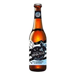 Bière Blanche BINIOUZ, bouteille de 33cl