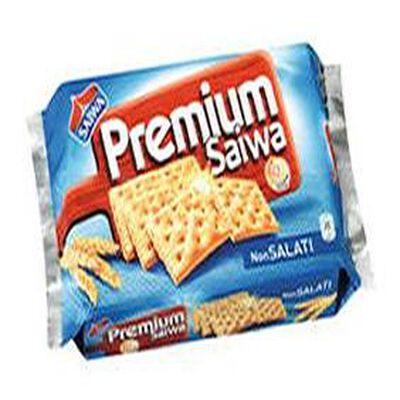 Crackers Premium sans sel SAIWA, paquet de 315g