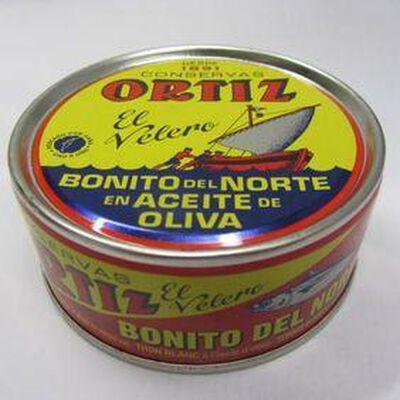 Thon blanc Germon à l'huile d'olive ORTIZ,158g