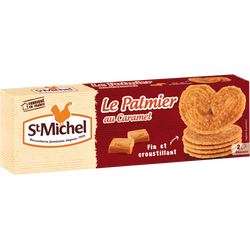 Palmier caramel SAINT MICHEL, 100g