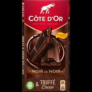 Côte d'Or Chocolat Fourré Épais Noir Truffé Coeur Coulant Chocolat Cote D'or, 190g